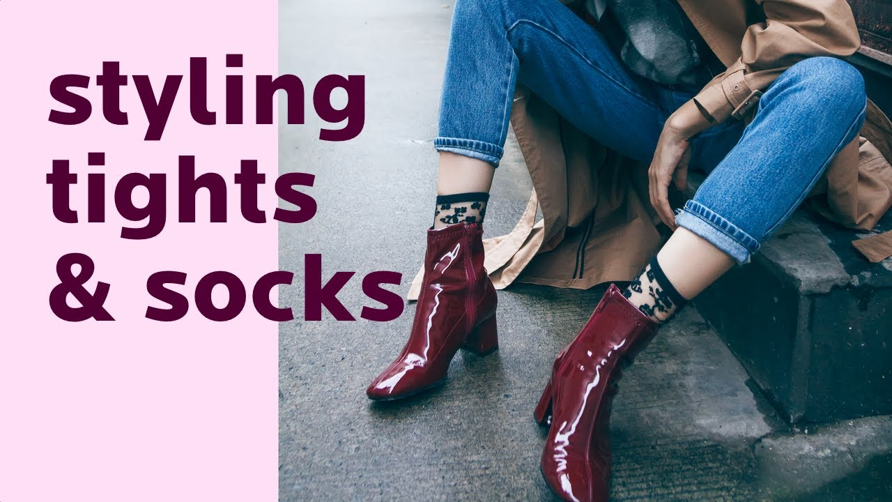 [VIDEO] - How to style tights and socks in winter: 42 outfit examples. Winter Accessories Series- Ep.2. 2