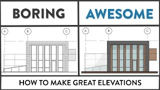 Revit Tutorial - How to Make Great Elevations