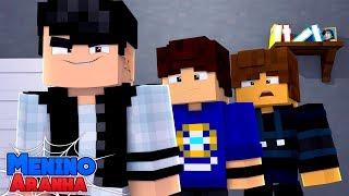 Minecraft: MENINO ARANHA - MEU AMIGO VOLTOU PARA A ESCOLA!!! #101