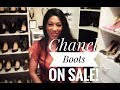 Chanel Sale! Unboxing boots. Autumn/Winter must have!