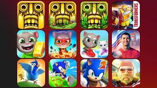 Temple Run, Temple Run 2, Transformers, Talking Tom, Ronaldo, Animal Escape, Sonic Dash, Sonic Boom screenshot 5