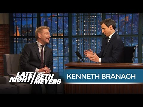Kenneth Branagh on Trying to Satisfy Thor Fans - Late Night with Seth Meyers