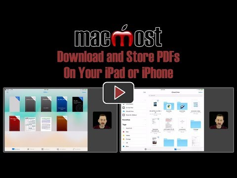 Download And Store PDFs On Your IPad Or IPhone (#1655)