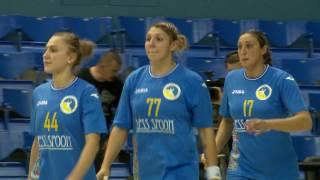 Гандбол, женщины. Отбор на Евро-2016. Украина - Сербия. Обзор матча