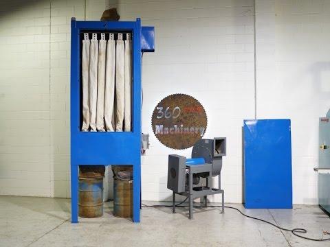 Kraemer 3500 Cfm 7 5 Hp Indoor Outdoor Dust Collector W Shaker Youtube