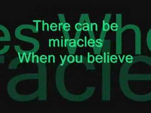 When You Believe- Mariah Carey and Whitney Houston