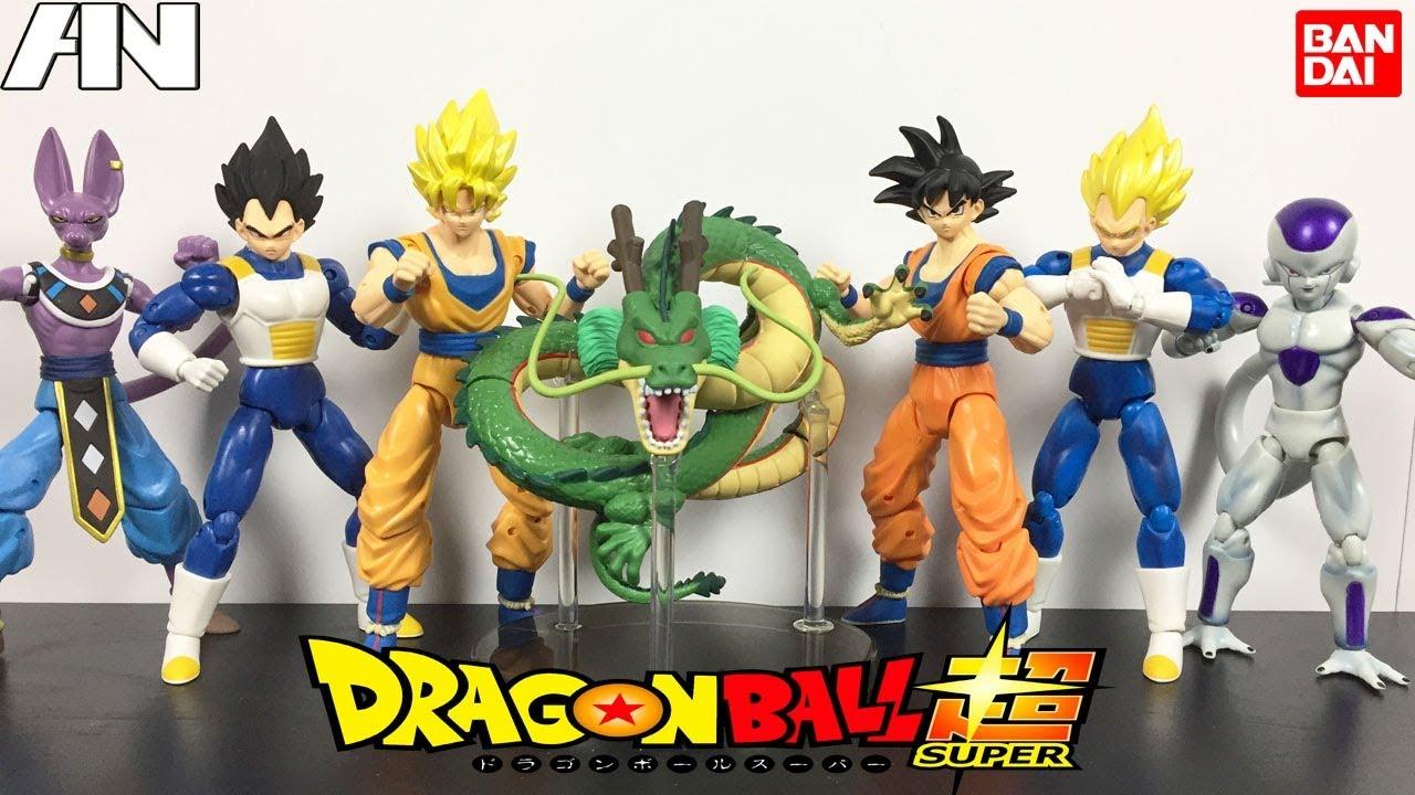 COMPLETE 6-SET Dragon Ball Stars WAVE Kale BAF Jiren Cabba Vegito Gohan Frieza