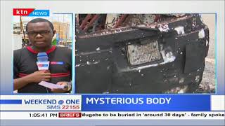 Mysterious body found inside a burnt car in Meru
