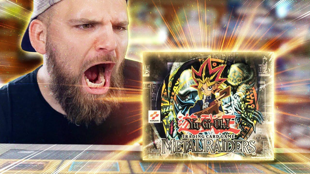 OPENING 2002 METAL RAIDERS 1ST EDITION | $12,000 Yu-Gi-Oh! Box