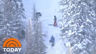 Utah Avalanche Kills 4, But 4 Others Survive