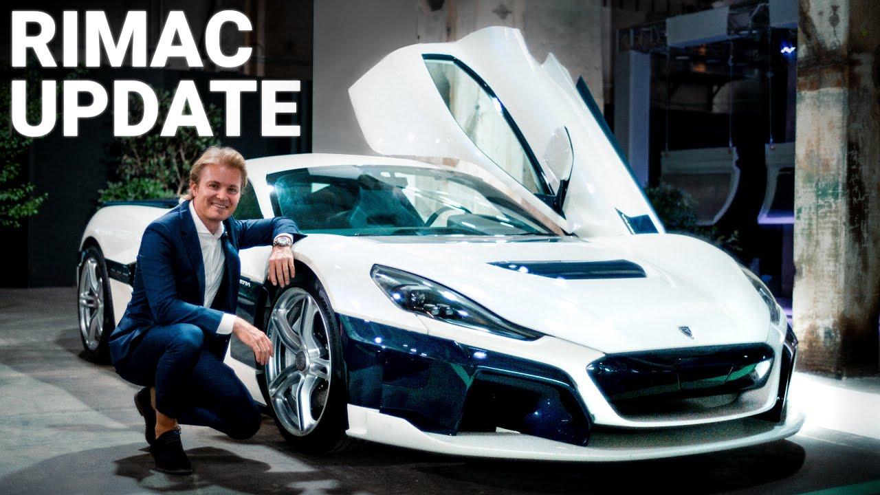 My New Rimac Nevera: Latest Update!   Nico Rosberg