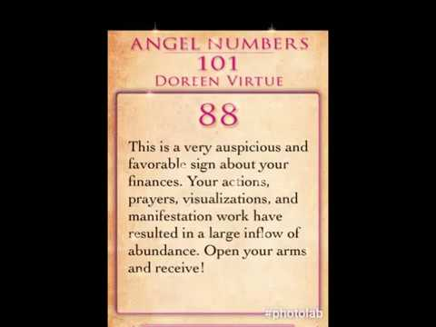 Daily Angel Number 88 by Doreen Virtue
