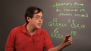 What Are Relative Prime Numbers in Math? : Number Theory Education