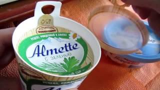 Almette творожный сыр - магазин Магнит