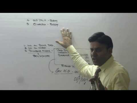 Income Tax : AY 16-17 : Income From Other Sources : Lecture 1