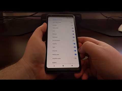 Pixel 2 & 2 XL | Hiding Status Bar Icons