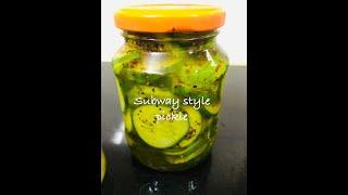 Subway style Pickle | सबवे जैस…