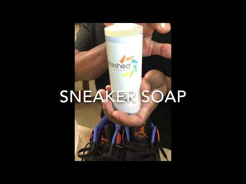 How to clean sneakers (jordans)