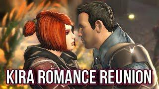 KIRA CARSEN RETURNS! SWTOR Romance Reunion with Jedi Knight (Onslaught Expansion)