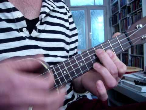 Mr. Sandman UKULELE TUTORIAL