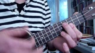 mr sandman ukulele tutorial
