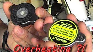 Radiator Cap 1.1 VS 1.8 Explained - Dirt Bike Overheating