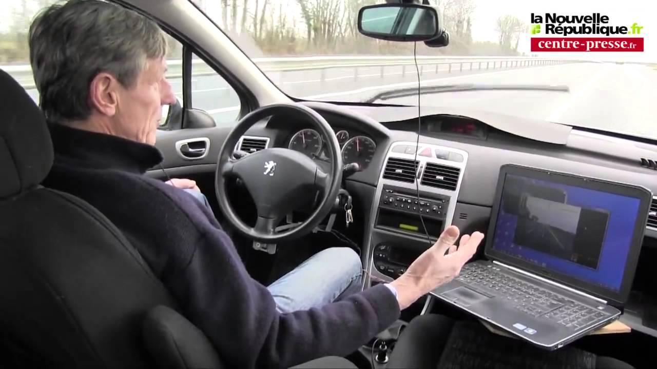 voiture sans conducteur driverless car youtube. Black Bedroom Furniture Sets. Home Design Ideas