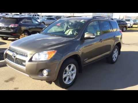 Pre Owned 2012 Toyota RAV4 4WD 4dr V6 Limited - Walk Around Review - Fort McMurray, Boyle, Alberta