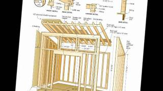Free Shed Plans & Woodworking Plans PDF's Download