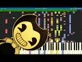 IMPOSSIBLE REMIX Bendy And The Ink Machine Song Build Our Machine Piano Cover DA Games mp3
