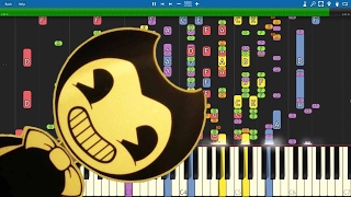 IMPOSSIBLE REMIX Bendy And The Ink Machine Song Build Our Machine Piano Cover DA Games