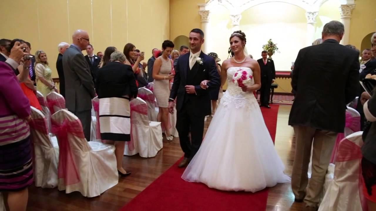 katrina amp chris wedding highlights youtube