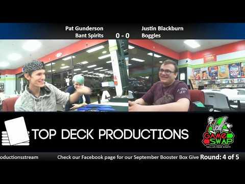 Modern FNM w/ Commentary 9/15/17: Pat Gunderson (Bant Spirits) vs. Justin Blackburn (Boggles)