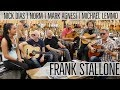 Frank Stallone with Norm, Mark, Nick and Michael playing Classical Guitars | Norman's Rare Guitars