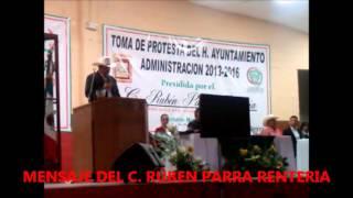 MENSAJE DEL C. RUBEN PARRA RENTERIA 11/OCTUBRE/2013