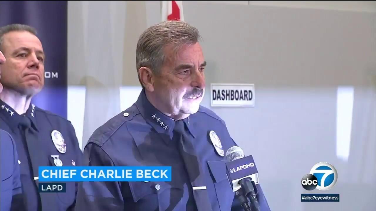 Download LAPD Chief Charlie Beck announces retirement I ABC7