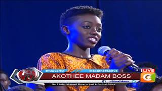Akothee introduces 'Baby Boss', millionaire first-year daughter #10Over10