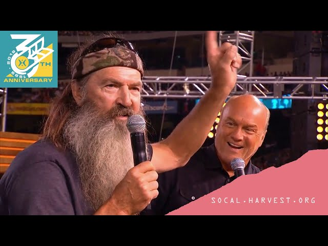 Come Rescue Us: Phil Robertson & Greg Laurie (Classic Crusades)