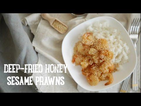 Deep Fried Honey Sesame Prawns [BA Recipes]