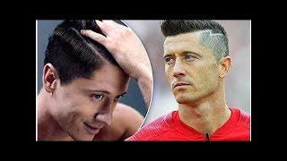 """Robert Lewandowski wyjawił sekret swojej idealnej fryzury! """"Przeszkadza mi nawet jeden źle ułożon..."""