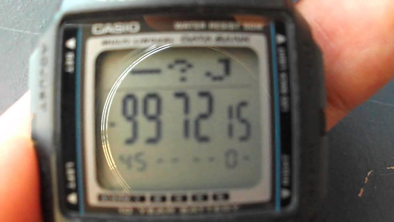 db6fc3de0b0 Watch Casio db 36 - YouTube
