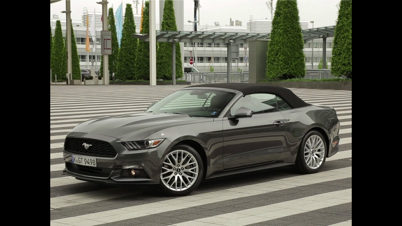 essai ford mustang convertible 2 3 l ecoboost bvm6 2015. Black Bedroom Furniture Sets. Home Design Ideas