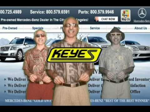 Keyes On Van Nuys Car Dealership Jingle Winner 2nd Place Youtube
