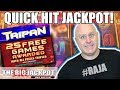 🔥25 FREE GAMES! 🔥Quick Hit Jackpot on Taipan Slots | Brian Christopher Slot Challenge
