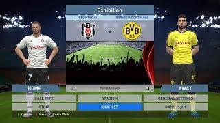Besiktas JK vs Borussia Dortmund, BJK Vodafone Park, PES 2016, PRO EVOLUTION SOCCER 2016, Konami, PC