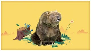 """Video Animal Songs: """"Big Brown Boogieing Bear,"""" by StoryBots download MP3, 3GP, MP4, WEBM, AVI, FLV Agustus 2018"""