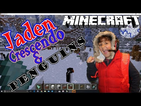 Minecraft Mods, Penguins, Rainbow Trees, Map, Ambients Sounds, Kitchen Kid Gaming New Realm MinetheJ