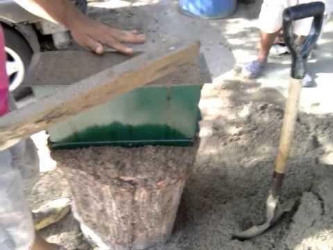 Como hacer bloques de cemento youtube - Como hacer cemento ...