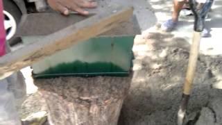 Como hacer bloques de cemento