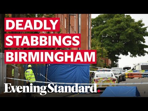 Birmingham stabbings: One dead and seven injured after 'major incident' in Birmingham City Centre